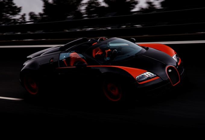 Bugatti Veyron 16.4 Grand Sport Vitesse World Record Car #1