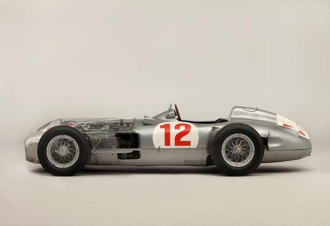 Record d'enchères pour la Mercedes W196 de Fangio #2