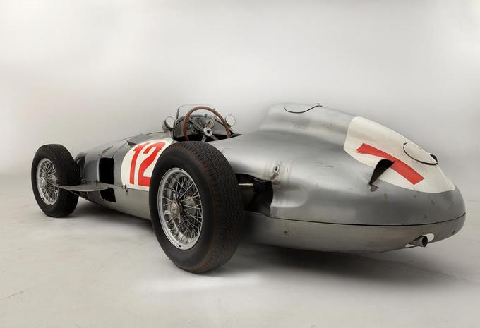 Record d'enchères pour la Mercedes W196 de Fangio #3
