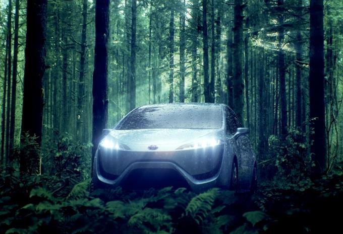Toyota à piles à combustible en 2015 #1
