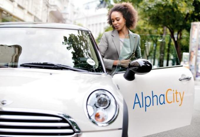 Plateforme de car sharing en entreprise AlphaCity #1