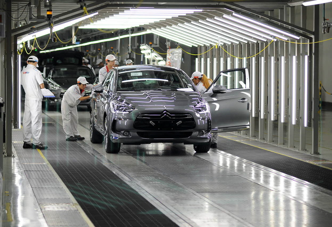 Citroën start productie DS5 in China #1
