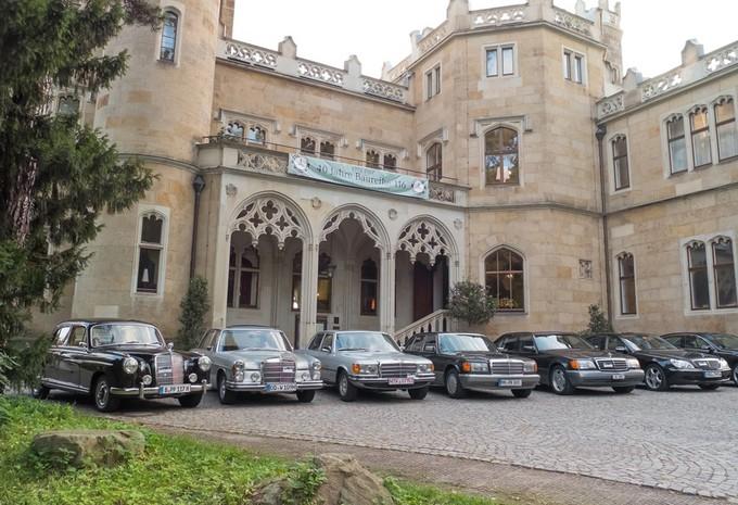 Het verhaal van de S-Klasse in AutoWorld #1