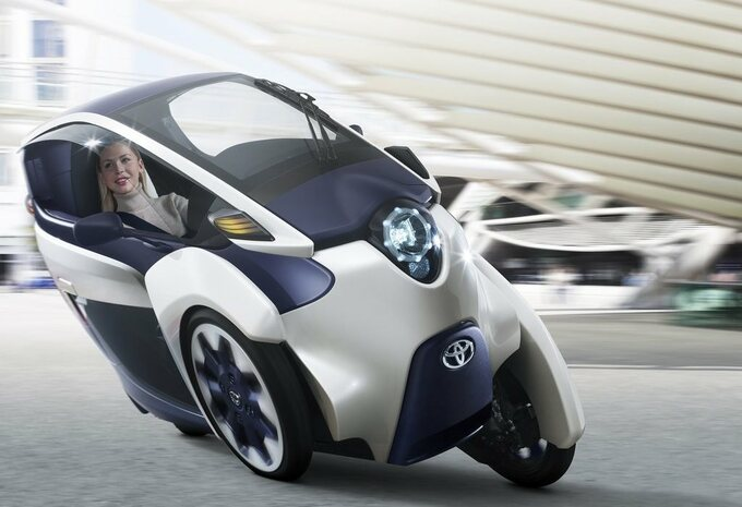 Toyota i-Road in mobiliteitsprogramma #1