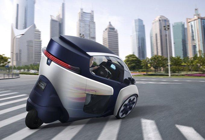 Toyota i-Road in mobiliteitsprogramma #2