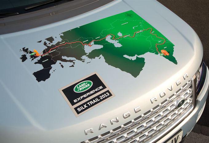 La route de la soie en Range Rover hybrides #1