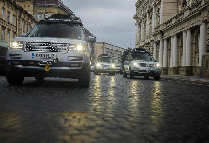 La route de la soie en Range Rover hybrides #2