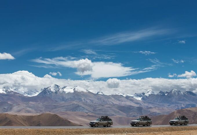 La route de la soie en Range Rover hybrides #3