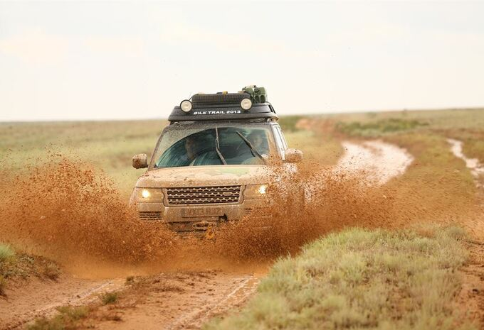 La route de la soie en Range Rover hybrides #4