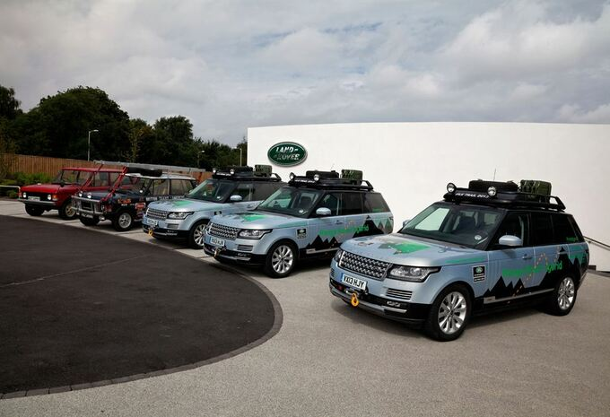 La route de la soie en Range Rover hybrides #6