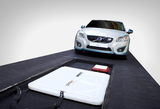 Volvo satisfait de la charge par induction #1