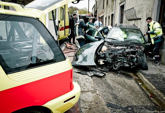 Accidents en hausse en Belgique #1