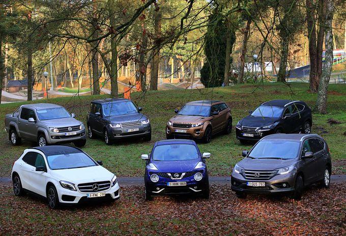 7 véhicules primés par le 4x4 de l'année #1