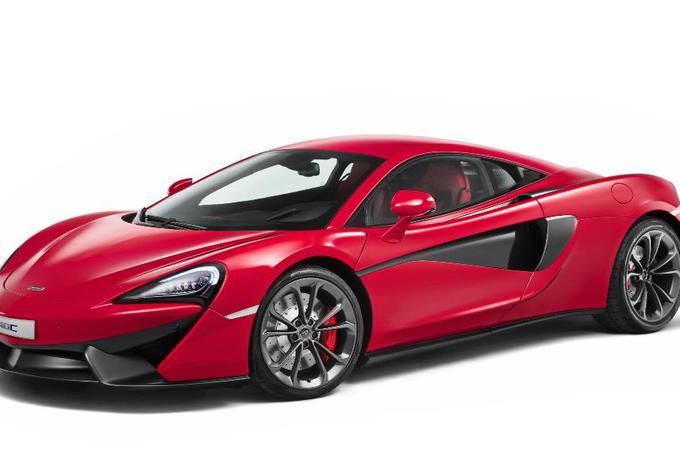 McLaren 540C, nouvelle entrée de gamme #1