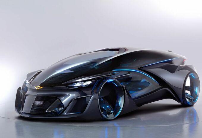 Chevrolet FNR Concept, cocon autonome #1