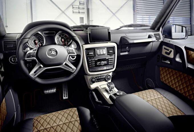 nouveau mod le mercedes classe g facelift et nouveau v8 moniteur automobile. Black Bedroom Furniture Sets. Home Design Ideas