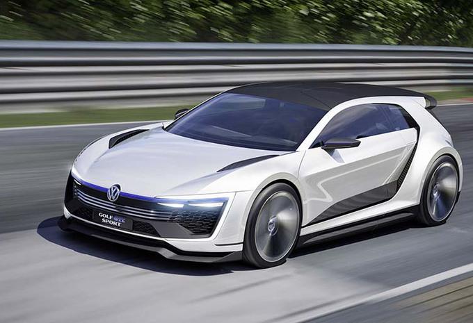 Volkswagen Golf GTE Sport Concept : le coupé vert #1