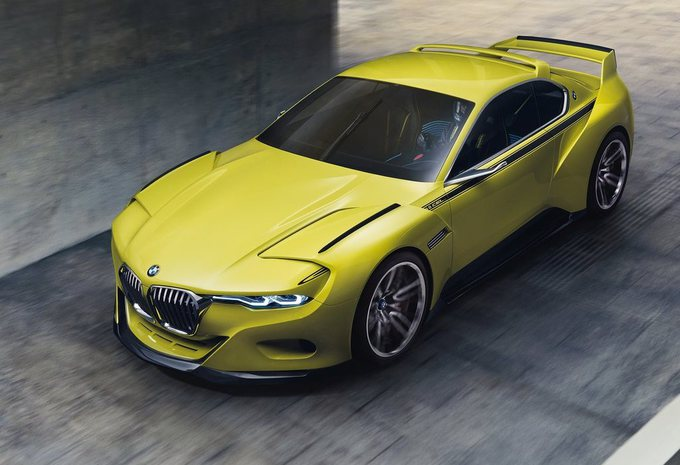 bmw 3 0 csl hommage concept fi vre jaune moniteur. Black Bedroom Furniture Sets. Home Design Ideas