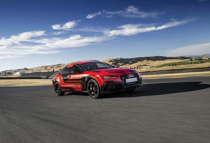 Autonome Audi RS7 is sneller dan coureurs #1