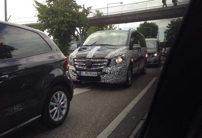 Mercedes V-Klasse: nu ook hybride? #1