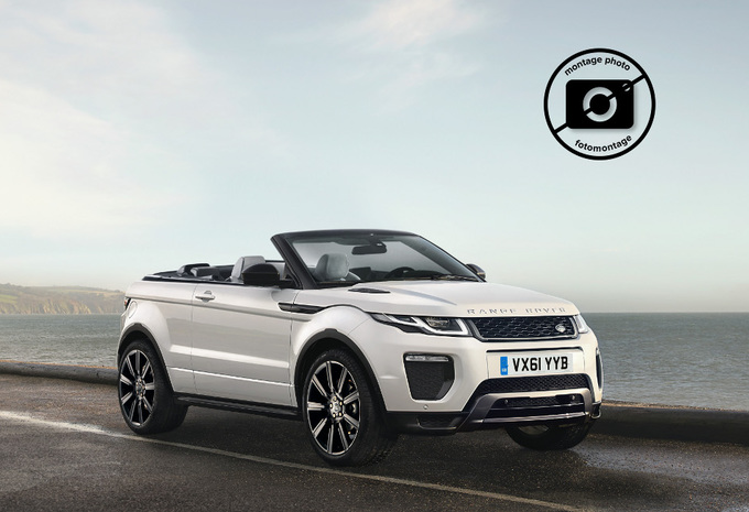 range rover evoque cabriolet moniteur automobile. Black Bedroom Furniture Sets. Home Design Ideas