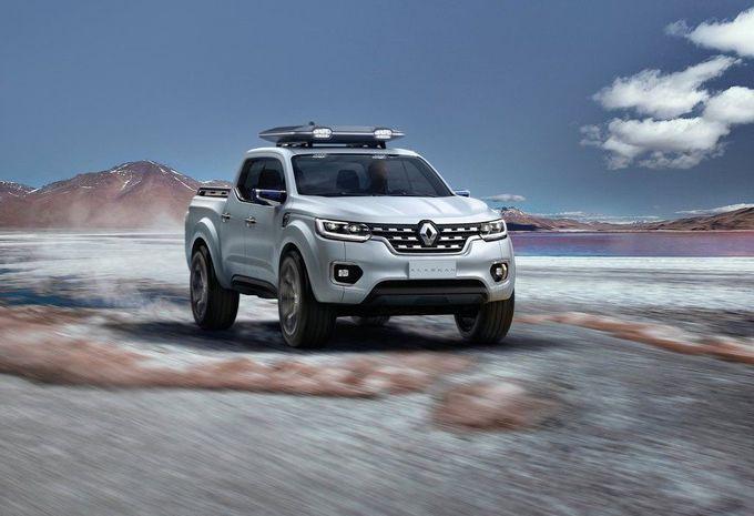 Renault Alaskan Concept : pick-up en vue #1