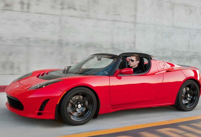 Une plus grosse batterie pour le Roadster Tesla #1
