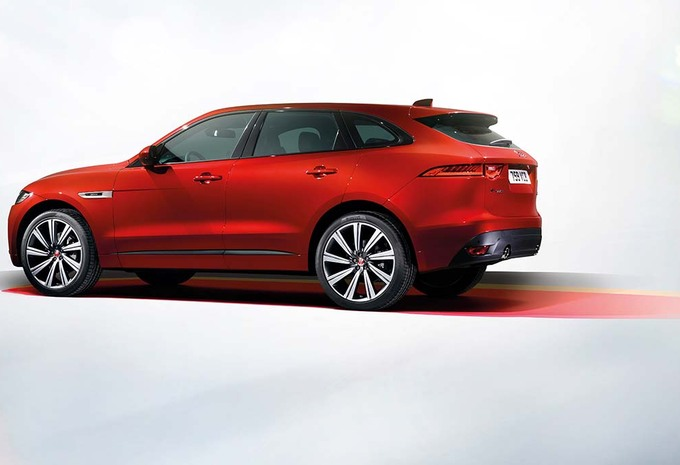 Jaguar f pace 2016 autogids for Interieur jaguar f pace