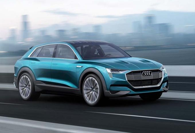 Audi quattro e-tron concept : l'anti Tesla Model-X #1