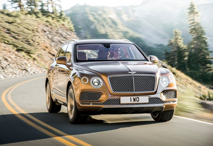 Bentley Bentayga au Zoute Grand Prix (vidéo) #1