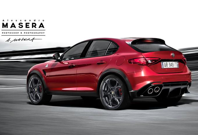 ... Giulia, la marque italienne prépare un SUV pour 2016. Il est temps
