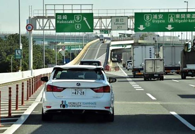 La voiture autonome de Toyota prête pour les JO de Tokyo en 2020 #1