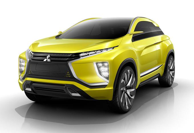 Mitsubishi eX : SUV électrique en préparatif d'ASX #1