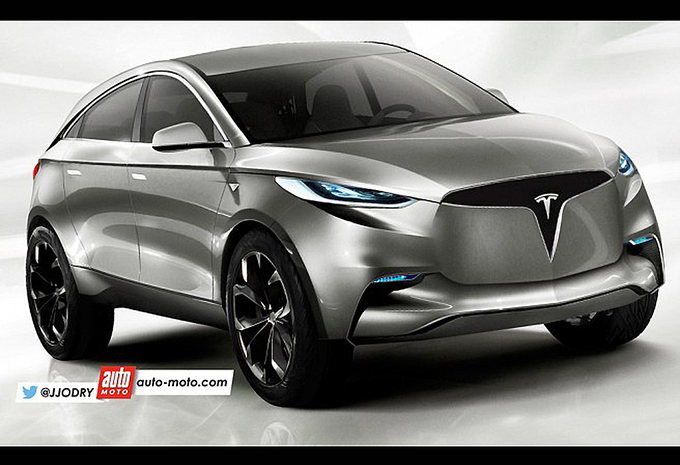 Scoop : 2018 Tesla Model Y - AutoWereld