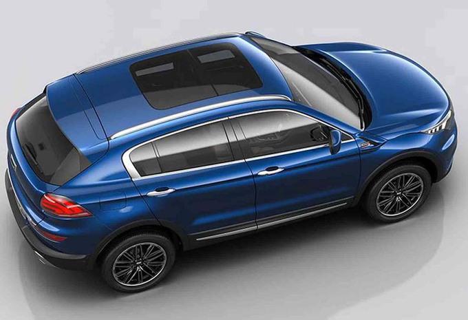 nieuw model qoros 5 een nieuwe suv voor china autogids. Black Bedroom Furniture Sets. Home Design Ideas