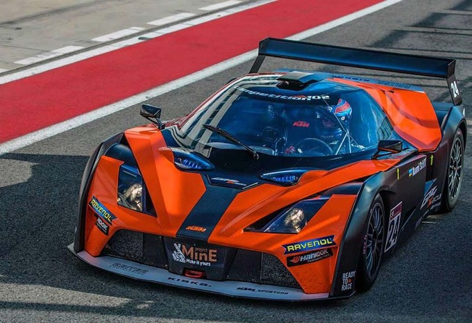 KTM X-Bow GT4 2015 : en circuit fermé #1