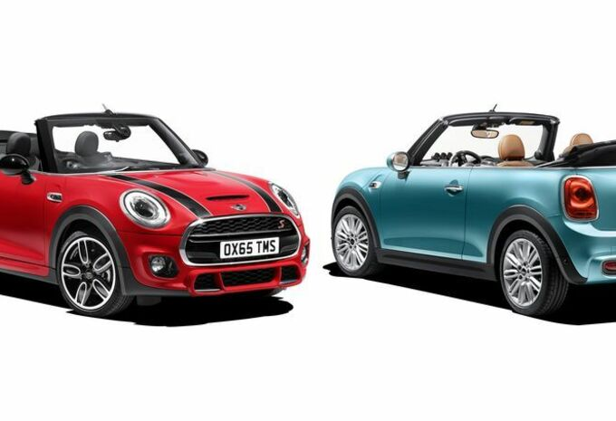 nouveau mod le mini cooper cabrio fid le la capote moniteur automobile. Black Bedroom Furniture Sets. Home Design Ideas