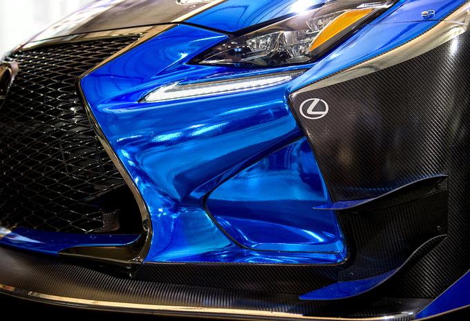 Lexus gaat racen met RCF GT3 #1