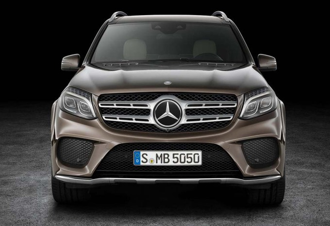 nouveau mod le mercedes gls 2016 suv amiral moniteur automobile. Black Bedroom Furniture Sets. Home Design Ideas