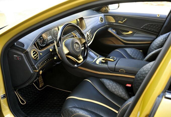 mercedes brabus s klasse is goudhaantje met 900 pk. Black Bedroom Furniture Sets. Home Design Ideas