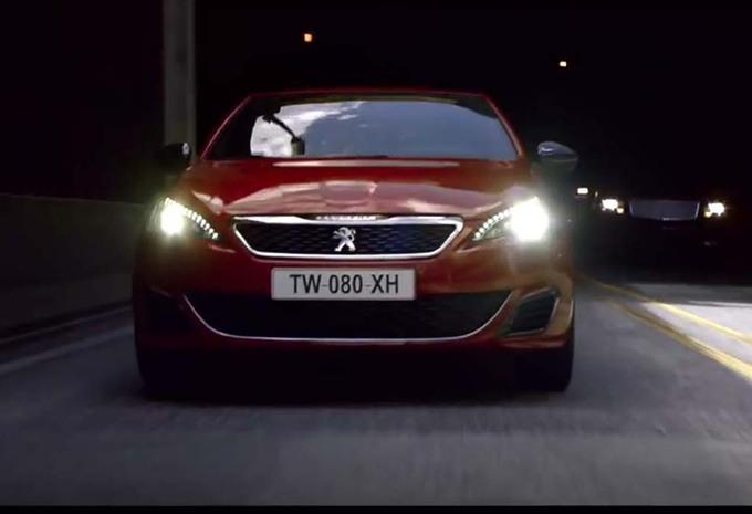Peugeot : la 308 GTI fait sa pub comme la 205 #1