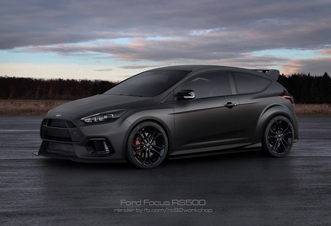 2017 ford focus rs500 autowereld. Black Bedroom Furniture Sets. Home Design Ideas