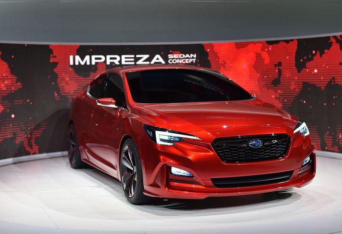 Subaru Impreza Sedan Concept : en 4 portes #1