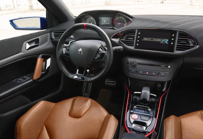nouveau mod le peugeot 308 r hybrid hybride et tr s sportive moniteur automobile. Black Bedroom Furniture Sets. Home Design Ideas