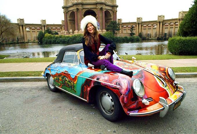 1,8 millions de dollars pour la Porsche 356C de Janis Joplin #1