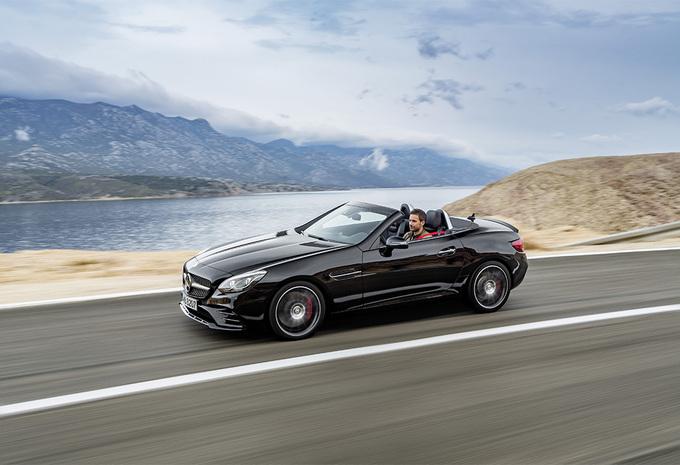 Mercedes SLC : nouveau nom en cadeau d'anniversaire #1