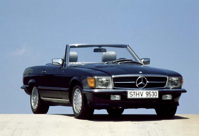 Youngtimer Mercedes 300sl Autogids