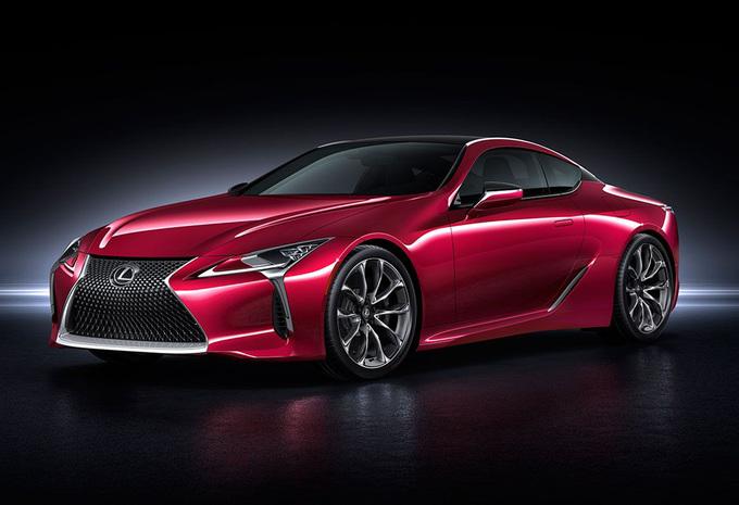Lexus eindelijk klaar met nieuwe LC 500-sportwagen #1