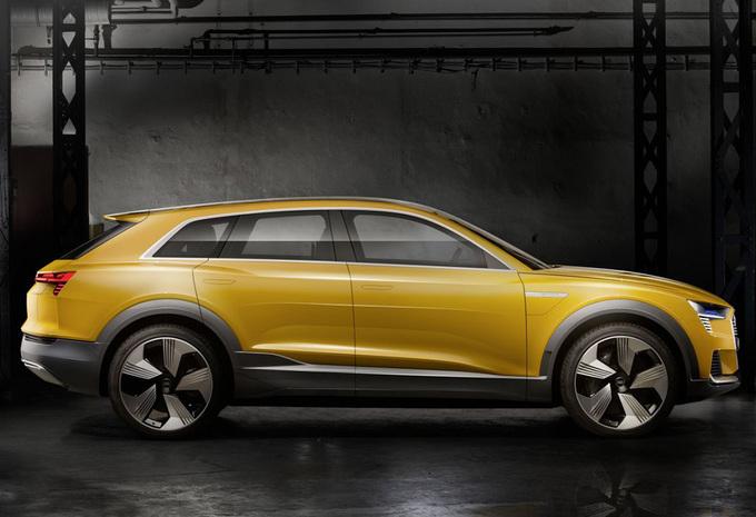 Audi kiest ook voor waterstof, h-tron in 2021 #1