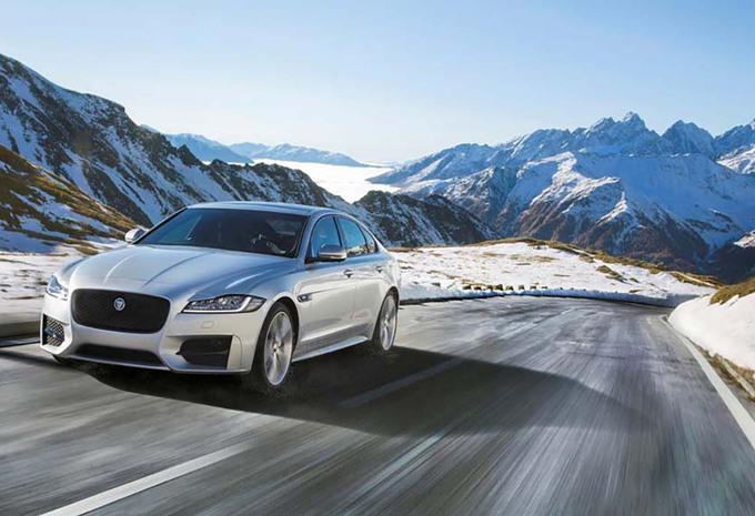 Jaguar XF : aussi avec une transmission intégrale #1